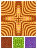 Optical Illusion Background, Vector Illustration