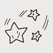 image of meteor  - Doodle Meteor - JPG