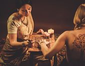 picture of haldi  - Drawing process of henna menhdi ornament on woman - JPG