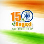 stock photo of indian independence day  - Creative Indian Independence Day concept - JPG