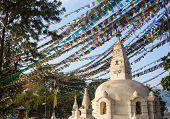 picture of buddhist  - Buddhist stupa  - JPG