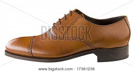 Постер, плакат: человек бизнес обувь изолированные, холст на подрамнике
