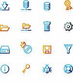 Color Contour File Server Icons