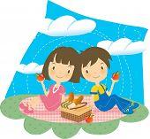 Enjoy Picnic and Happy Days