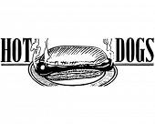Hotdogs 2 - Retro Ad Art Banner