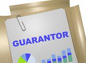 Guarantor - Banking Concept poster