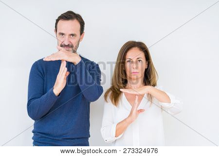 Beautiful middle age couple in