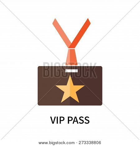 poster of Vip Pass Icon Isolated On White Background. Vip Pass Icon Simple Sign. Vip Pass Icon Trendy And Mode
