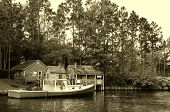 Vintage New England Scenery