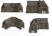 Medieval Houses - Cottage poster