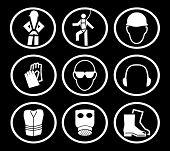 Símbolos de seguridad de la construcción (reemplazar: 2507293)