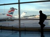 Airport Leaving