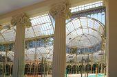 Madrid Palacio de Cristal en el Palacio de cristal de cristal Parque del Retiro España