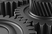 stock photo of tithe  - Gears for concept work   - JPG