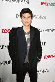 BEVERLY HILLS - SEP 27:  Nat Wolff at the Teen Vogue's 10th Anniversary Annual Young Hollywood Party