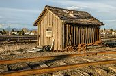 Building Between Railroad Tracks