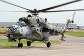 Mi-24 Hind Attack Helicopter