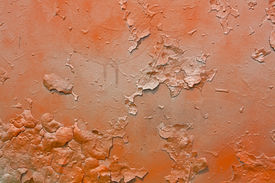 pic of graff  - Abstract orange and gray old metal graffitti background - JPG
