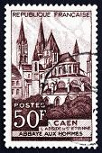 Postage Stamp France 1951 Abbaye Aux Hommes, Caen