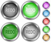 Redo. Raster internet buttons. Vector version is in portfolio.
