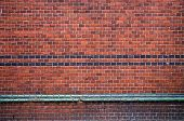 Historical Palace Brick Wall Background