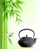 Green Bamboo And Tea