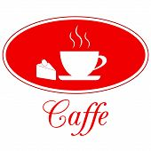 Caffee design, vector