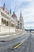 Day View Of The Budapest Parliament Building