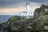 White Lighthouse At Fanad Head, Donegal, Ireland
