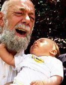 Pinching Grandpa