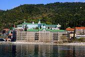 Monasterio ruso del Santo Panteleimon en Athos, Grecia