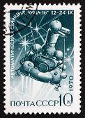 Postage Stamp Russia 1970 Luna 16, Moon Mission