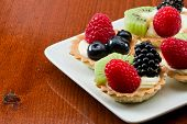 Fresh Mini Fruit Tarts
