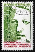 Postage Stamp France 1973 Shows Eugene Ducretet, Inventor