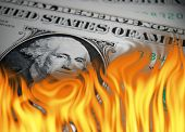 Dollar Up In Flames