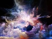 stock photo of heavenly  - Space Dance Series - JPG