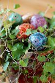 Varicoloured Easter Egg