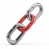 stock photo of chain link fence  - Link icon - JPG