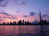 Toronto, Canada at sunset