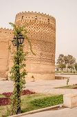 picture of shiraz  - Arg of Karim Khan Monument in Shiraz  - JPG