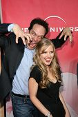 Diedrich Bader and Pippa Black at the NBC Summer Press Tour Party, Beverly Hilton Hotel, Beverly Hil