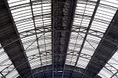 Ceiling In Railway Station