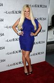 Bridget Marquardt at a Special Screening of