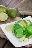 Portion Of Lime Jello