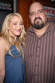 Jennifer Blanc-Biehn and Travis Romero at Jennifer Blanc-Biehn's Birthday Party, Sardos, Burbank, CA