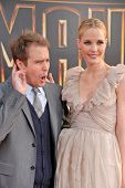 Sam Rockwell and Leslie Bibb at the