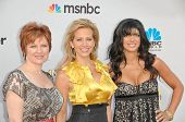 Caroline Manzo, Dina Manzo and Teresa Giudice at The Cable Show 2010: An Evening With NBC Universal,