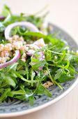Arugula Salad with Spelt and Onions
