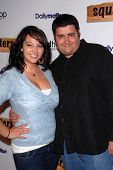 Gina Grad and Randy Wang at the Red Carpet Launch Party for