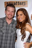 Frank Kramer and Kerri Kasem at the Red Carpet Launch Party for